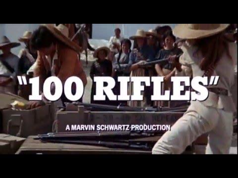 Les 100 fusils (100 Rifles) - Bande annonce d'époque VO