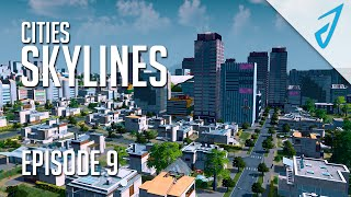 Cities: Skylines - EPIC PARK! (Episode 9)