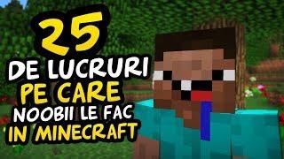 Video 25 DE LUCRURI PE CARE LE FAC NOOBII IN MINECRAFT MP3, 3GP, MP4, WEBM, AVI, FLV September 2019