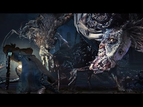 Bloodborne: Ludwig The Accursed, Holy Blade Boss Fight (1080p)