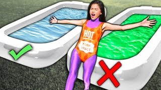 DONT TRUST FALL into the WRONG POOL! *GROSS* Project Zorgo Hacker Challenge