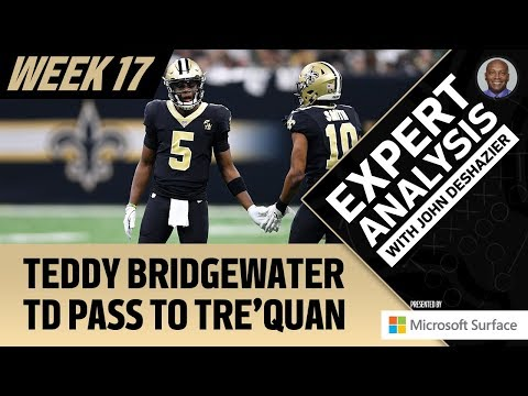 Expert Analysis: Teddy Bridgewater TD Pass | Week 17