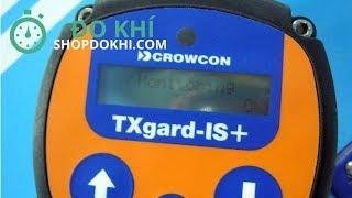 Khởi động đầu dò khí độc và khí oxy Crowcon TXgard IS+