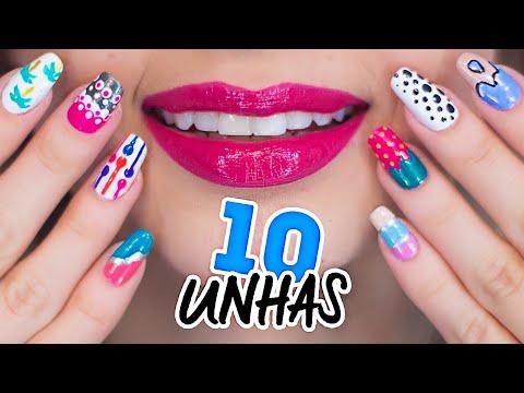 10 UNHAS DECORADAS FÁCEIS PARA INICIANTES #4
