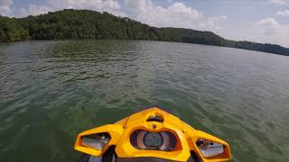 5. 2018 Sea Doo GTI SE 130 first time in sport mode