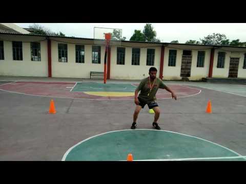 BASKETBALL FOOTWORK SKILL AND DRILL G.V.I SCHOOL COACH