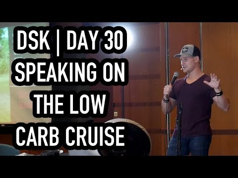 Atkins diet - Deeper State Keto  Day 30  Speaking On The Low Carb Cruise