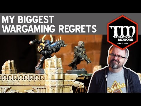 My Biggest Wargaming Regrets
