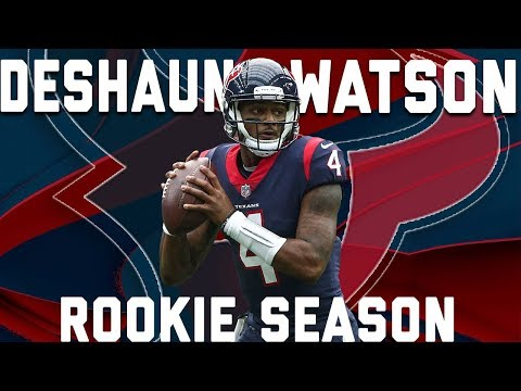 Deshaun Watson's 2017 Rookie Year Highlights | NFL (видео)