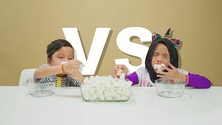 Video Sampe Enek 60 Detik Chubby Bunny Battle Qahtan VS Saleha Halilintar MP3, 3GP, MP4, WEBM, AVI, FLV Maret 2019