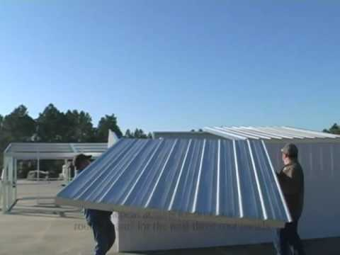 Gulf Coast Supply -part 1- Haiti / International Relief Home, Metal Tiny House
