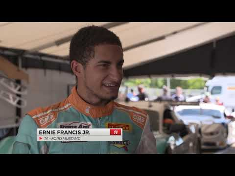 Ernie Francis Jr. Takes Pole in TA Class at Mid-Ohio
