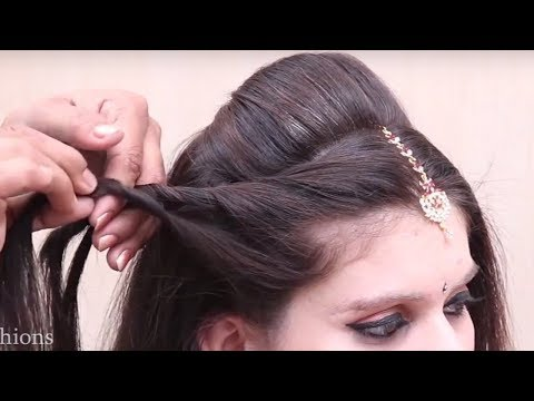 Easy And Amazing Juda Hairstyle With Bun Hair Style Girl Latest