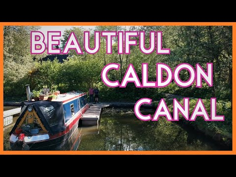 Floating Our Boat On The Beautiful Caldon Canal - Episode57