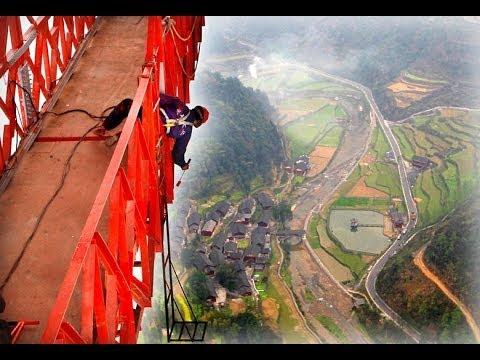 The Highest Bridge In The World / Aizhai Bridge / China