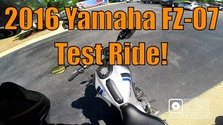 9. Test Ride - 2016 Yamaha FZ-07 (MT-07)