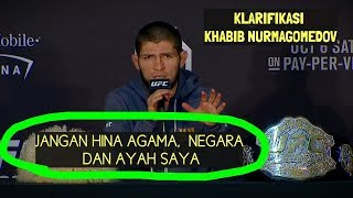 Video FULL Klarifikasi Khabib Nurmagomedov RICUH MP3, 3GP, MP4, WEBM, AVI, FLV Desember 2018