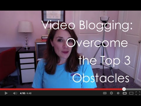 Video Blogging - Want to start video blogging, but don't like how you look on camera? Not sure you have the right equipment? Business and life coach Stacy Boegem, founder of ...
