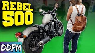 9. NEW BIKE! 2018 Honda Rebel 500