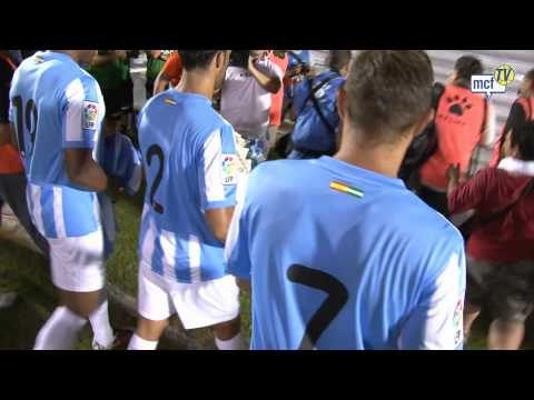 Emotional tribute by Málaga Football Club
