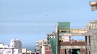كاميرا تلفزيون ترصد الطبق الطائر في سماء بيرو هذه المرة