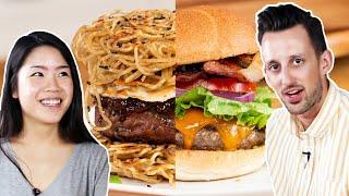 Video Trendy Vs. Traditional: Burgers •Tasty MP3, 3GP, MP4, WEBM, AVI, FLV Agustus 2019