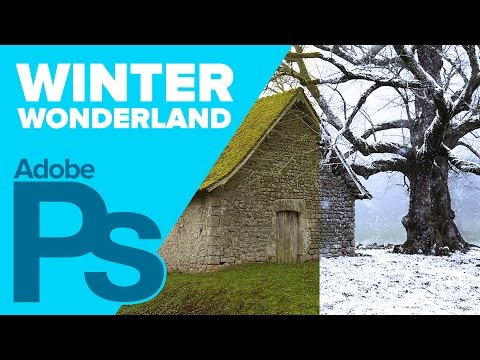 Photoshop CS6: Create a Winter Wonderland (Photoshop Photo Effects)
