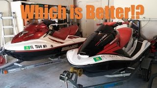 8. Sea Doo GTX vs Honda Aquitrax