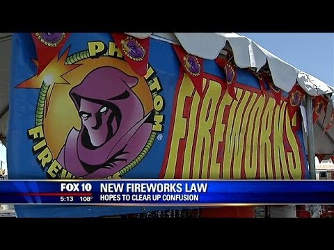 AZ fireworks law: What's legal and what's not