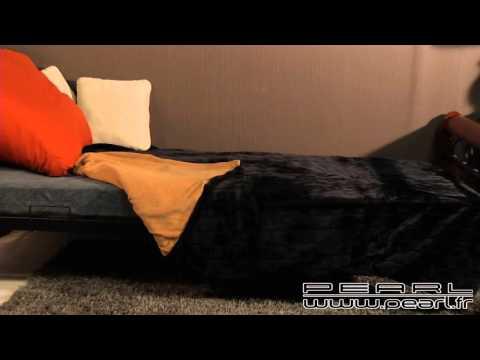 NC5184 -  Couverture imitation fourrure noire