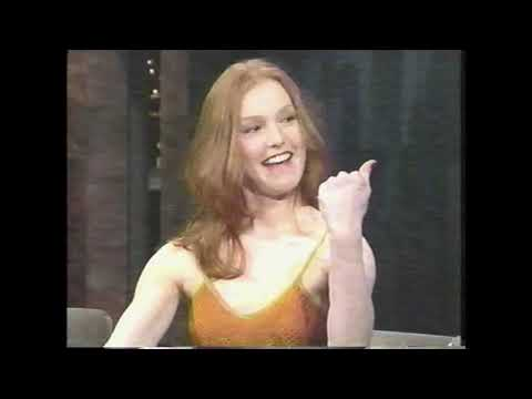 Alicia Witt on the Late Show with David Letterman (April 21, 1997)