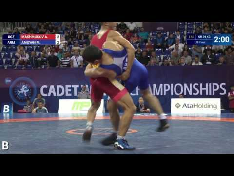 Greco-Roman wrestling highlights