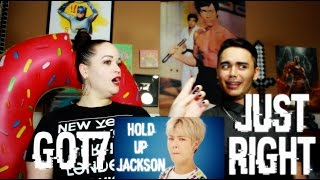 Video GOT7 - Just right MV Reaction [FINGA LICKIN JACKSON] MP3, 3GP, MP4, WEBM, AVI, FLV September 2018