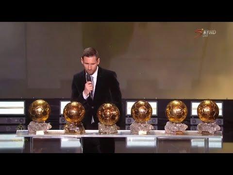 Ballon d'Or 2019 Full Ceremony HD
