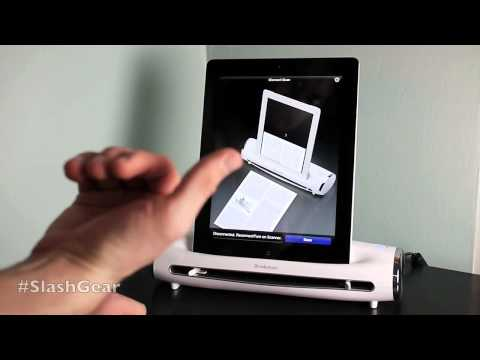 Brookstone iConvert Scanner for iPad hands-on