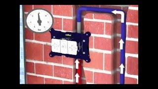 FirUnico® - Mauerwerksinstallation (Waschtischbereich)
