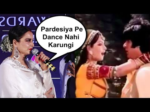 Video Rekha Gets Angry When Asked To Dance On Pardesiya Song At IIFA Awards 2018 download in MP3, 3GP, MP4, WEBM, AVI, FLV January 2017