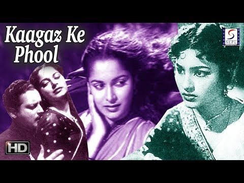 Kaagaz Ke Phool - Waheeda Rehman, Guru Dutt - B&W - Hit Movie