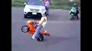 Niño en Moto de Caballito