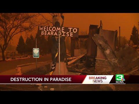 Camp Fire's Destruction Revealed In Daylight