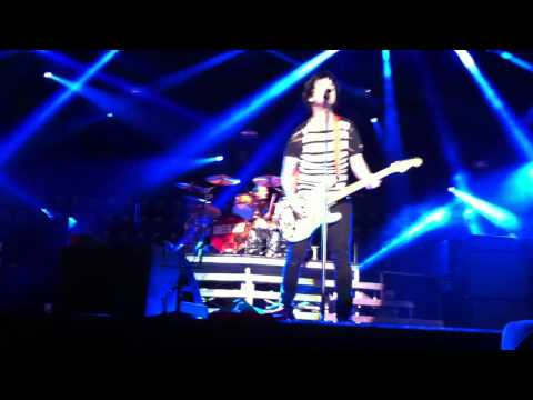 Green Day She live @Trieste 25/05/2013