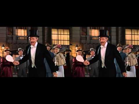 House Of Wax 3D (1953) Paddle Ball Scene - Stereoscopic HD