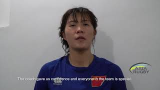 🎥REACTION: China's Lu YuanYuan after 68-0 win against the Philippines