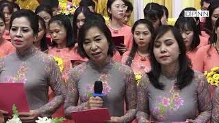 Ca khúc: Nhẫn cưới trao nhau do Ban đạo ca chùa Giác Ngộ trình bày, ngày 21-12-2018