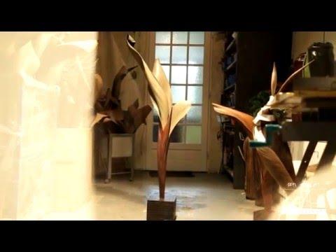 Genevieve Mathieu Sculpture végétale
