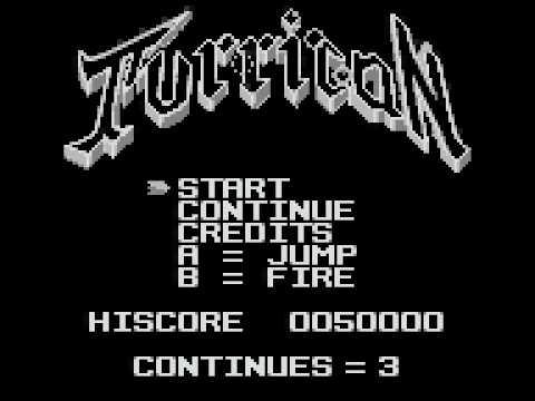Turrican Game Boy