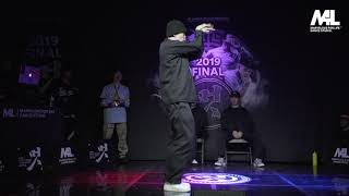 Tutat vs Iron Bear – 멋 2019 FINAL POPPING 1on1 BATTLE SIDE BEST4