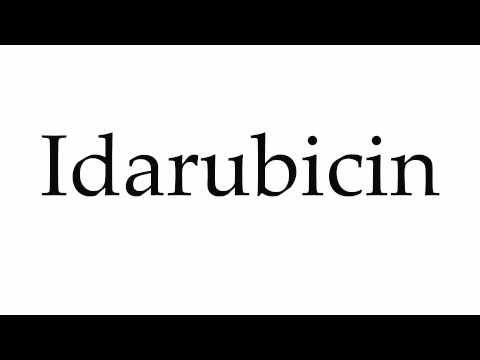 How to Pronounce Idarubicin
