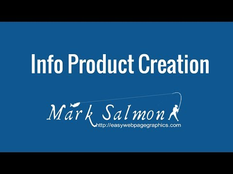 """Info Product Creation""