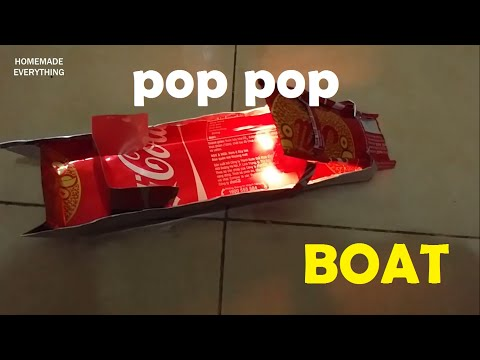 How to Make a Pop Pop Boat without using Glue